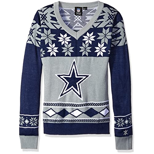 the best attitude 51d16 2f1ec Dallas Cowboys Ugly Christmas Sweater: Amazon.com