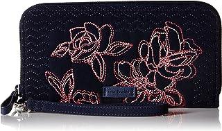Vera Bradley Iconic RFID Accordion Wristlet, Microfiber