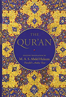 The Qur'an: English translation and Parallel Arabic text