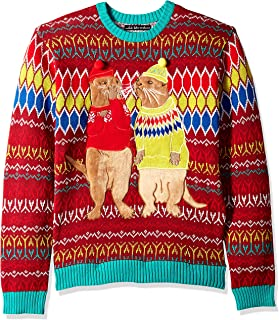 Men's Ugly Christmas Sweater Sea Creatures