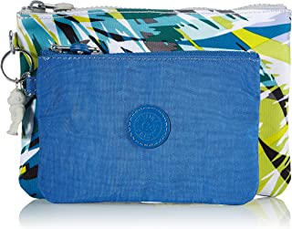 Kipling Women's Duo Pouch Accessory-Travel Wallet, Bright Palm, One Size