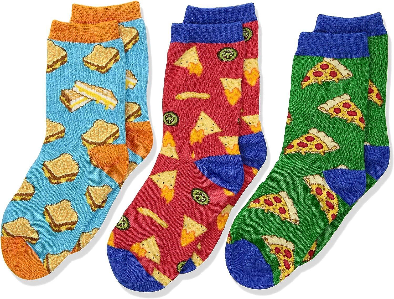 Socksmith Childrens Crazy Cheesy Snack Food Socks