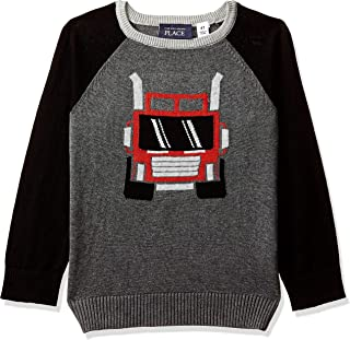 The Children's Place Little Boys' Intarsia Sweater