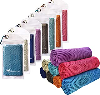 Hystrada 8 Pack Cooling Towels 40