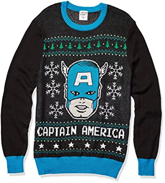 Marvel Men's Deadpool Sweater