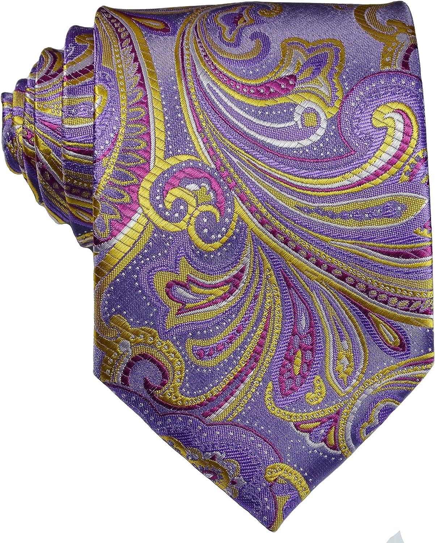 Geotae Zerun New Ranking TOP7 Classic Men's Tie Paisley Silk In stock Necktie