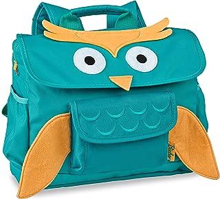 Bixbee Kids Backpack Owl Turquoise School Bag for Children, Small
