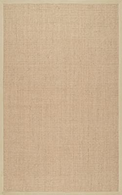 nuLOOM Orsay Machine Woven Area Rug, 8' x 10', Beige