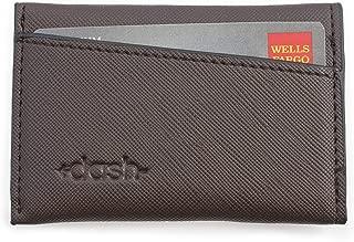 Premium Mens Slim Wallet By DASH - Vegan Card Wallet, Small, Compact Front Pocket Design