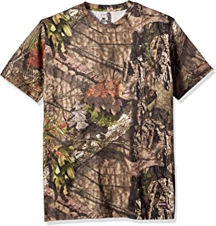 Men's Short Shot Camouflage Pocket Tee Shirt