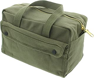 Army Universe Heavy Duty Canvas Tool Bag, Military Field Carry Bag, General Purpose Supply Storage Bag for Gear, Trade, Handyman, Mechanics, Electricians, Plumbers