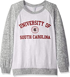NCAA Womens Cozy Fleece Crew Sweatshirt