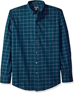 Van Heusen mens Wrinkle Free Twill Long Sleeve Button Down Shirt Button Down Shirt (pack of 1)