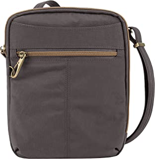 Travelon Travelon Anti-theft Signature Slim Day Bag, Smoke (gray) - 43326-531