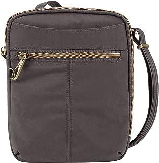 Travelon Travelon Anti-theft Signature Slim Day Bag, Smoke (gray) - 43326-531
