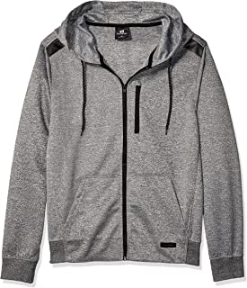 Southpole Men's Marled Tech Fleece Full Zip Hoodie