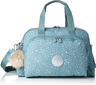 Kipling CAMAMA Messenger Bag, 44 cm, 22 liters, Multicolour (Silver Sky)