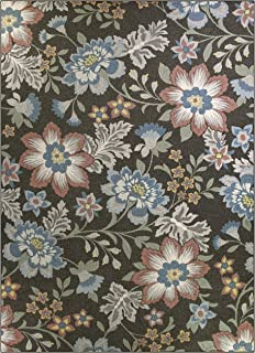 Best mainstays gray floral rug Reviews