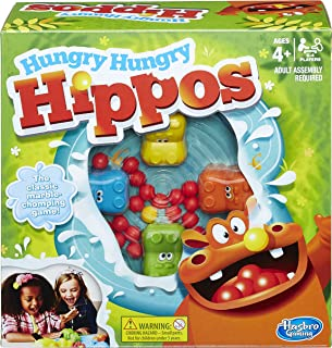Hasbro Elefun and Friends Hungry Hungry Hippos Game