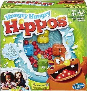 Hasbro Juguete de hipopótamos hambrientos, Multicolor (