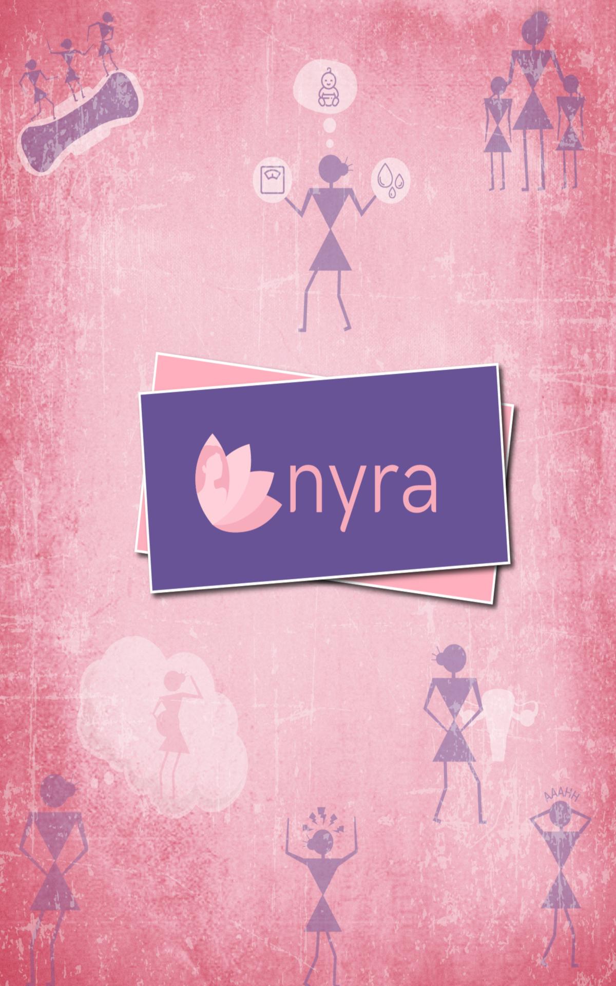 Nyra – Period, Fertility & Ovulation Tracker App