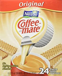 COFFEE MATE The Original Liquid Coffee Creamer 24 Count per box, Pack of 4