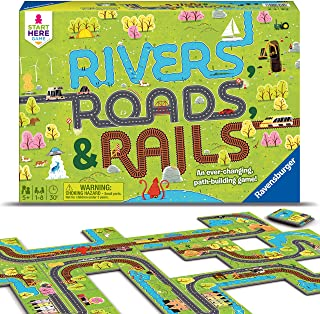 Ravensburger Rivers, Roads And Rails - Children's Game