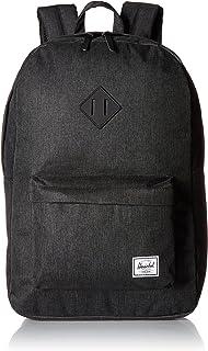Herschel 10007-02093-Os Heritage Unisex Casual Daypacks Backpack - Black Crosshatch/Black