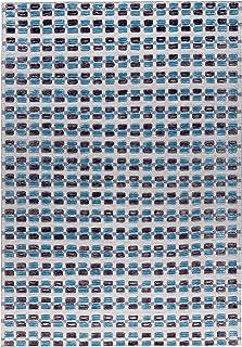 MA Trading Handmade Dayton Area Rug (India) Brown, Blue, Grey 8' x 10' 8' x 10'