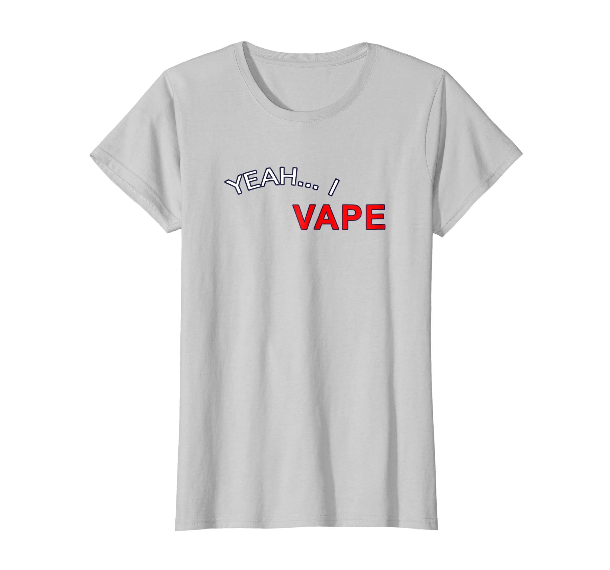 Yeah I Vape Very Good At Respecting Women Shirt-Teesml