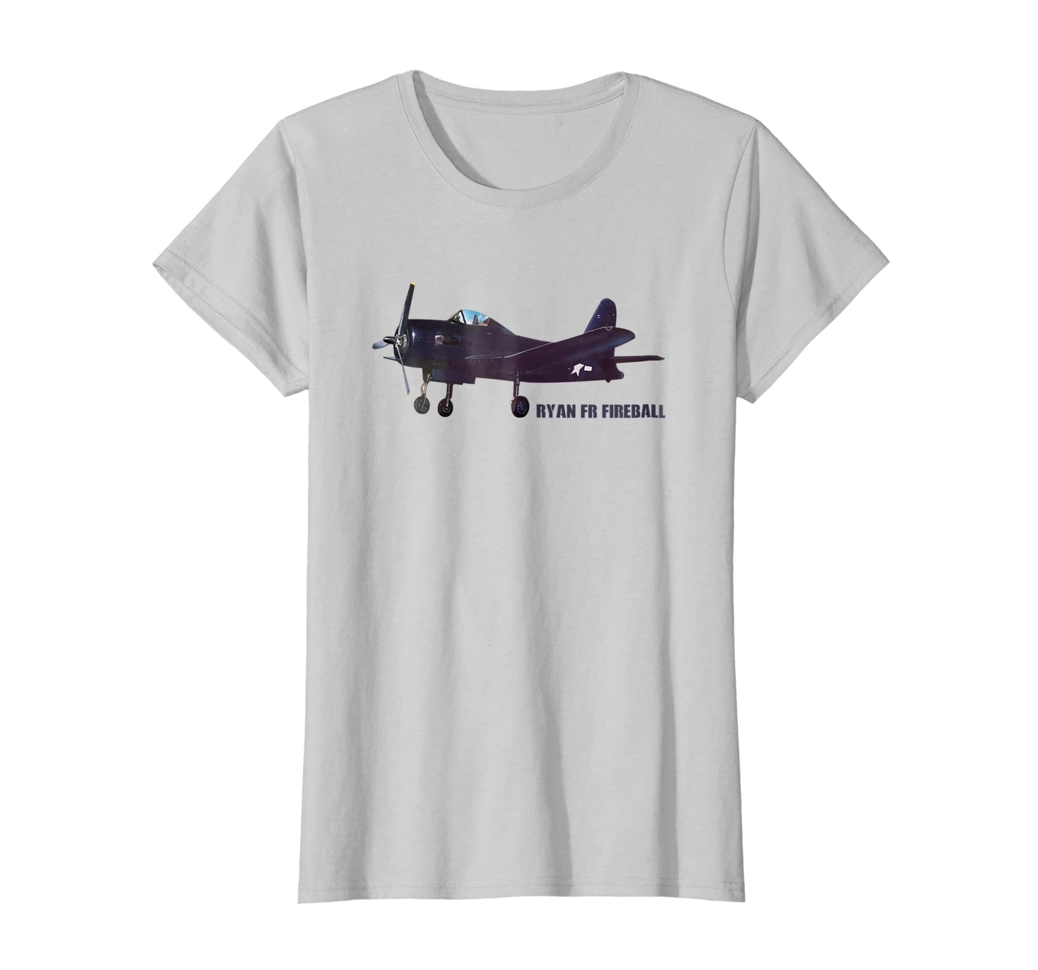 Amazon com: Ryan FR-1 Fireball American WWII Plane TShirt