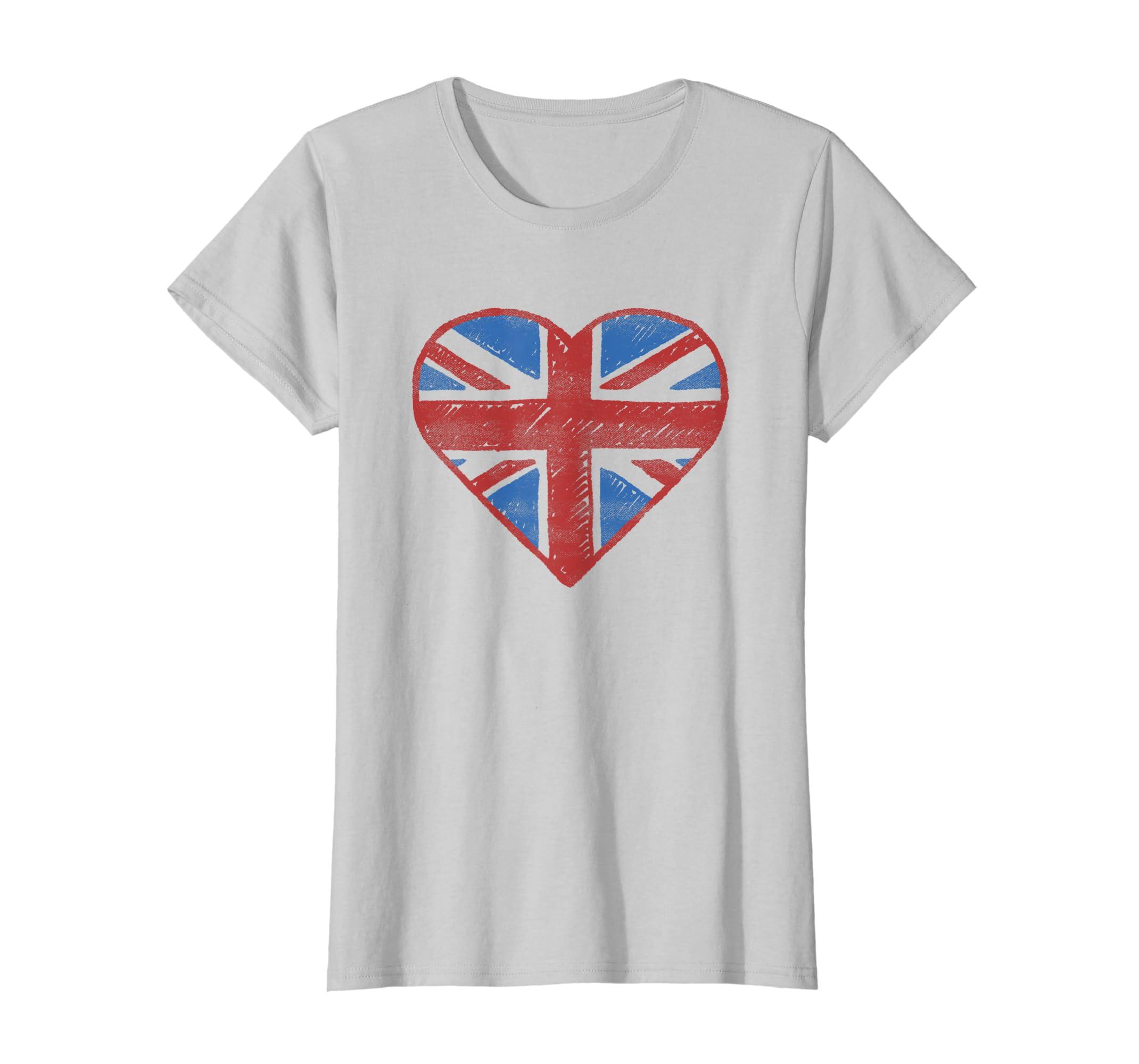 2327072e8 Amazon.com: UK Flag T shirt - British Flag Shirt Women Kids Girls Boys:  Clothing
