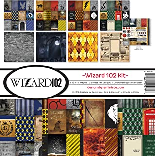 """Reminisce Collection Kit 12""""X12""""-Wizard 102"""