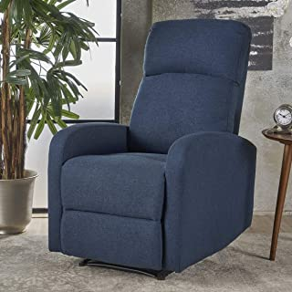 Christopher Knight Home Giovanni Recliner, Navy Blue