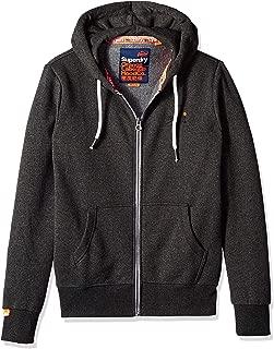 Men's Orange Label Zip Hoodie