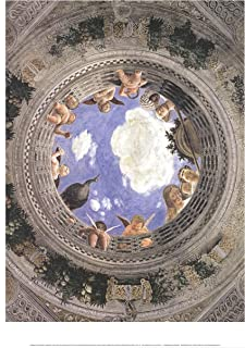Andrea MANTEGNA Ceiling of The Palazzo Ducale, Mantua 31.5