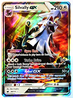 Pokemon - Crimson Invasion - Silvally GX 90/111, Ultra rare, New, Mint