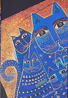 Paperblanks 12 Month Diaries 2020 Mediterranean Cats | Horizontal | Mini (100 × 140 mm)