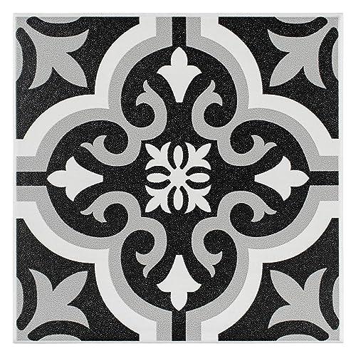 Black And White Floor Tiles Amazoncom