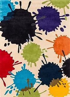 Best paint splatter area rug Reviews