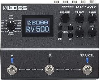 BOSS Reverb Processor Guitar Pedal (RV-500)