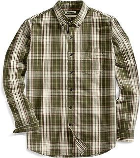 Amazon Brand - Goodthreads Men's Standard-Fit Long-Sleeve Plaid Slub Shirt