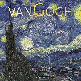 Graphique van Gogh Wall Calendar - 16-Month 2020 Calendar, 12