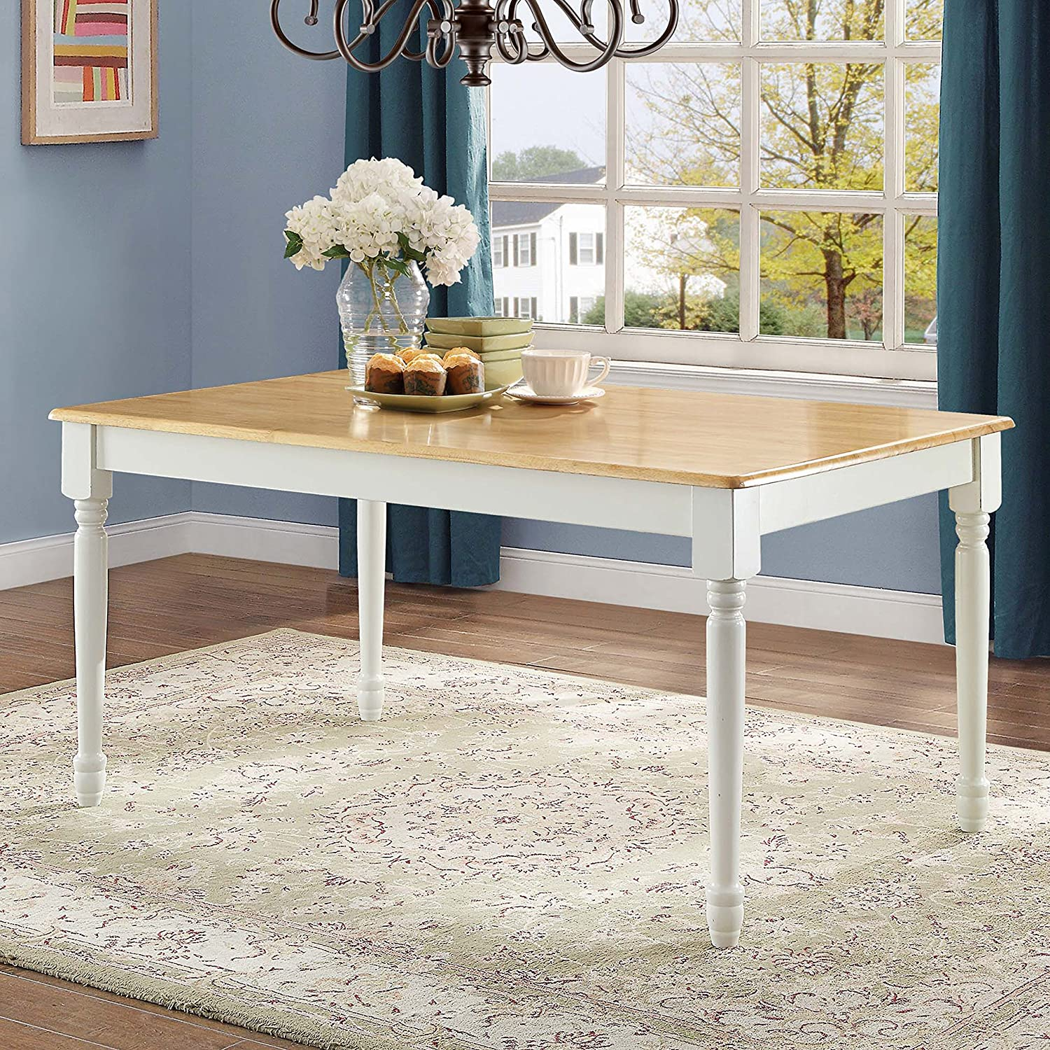 Better Wholesale Homes and Gardens Autumn Whi Lane 2021 new Farmhouse Table Dining
