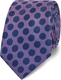 T.M.Lewin Mens Blue and Pink Triple V Socks