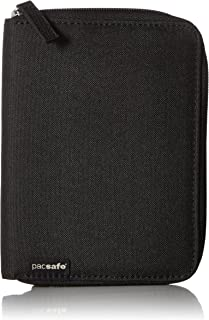 Pacsafe RFIDsafe LX150 Anti-Theft RFID Blocking Passport Wallet, Black