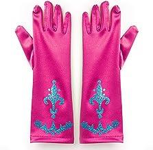 Katara 1098 - Guantes de Princesa - Accessorio de Disfraz Halloween, Carnaval, Cumpleaños - Niñas de 2-9 Años, Rosa