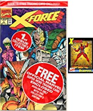 X-Force #1 in Factory Sealed Bag with Deadpool Trading Card