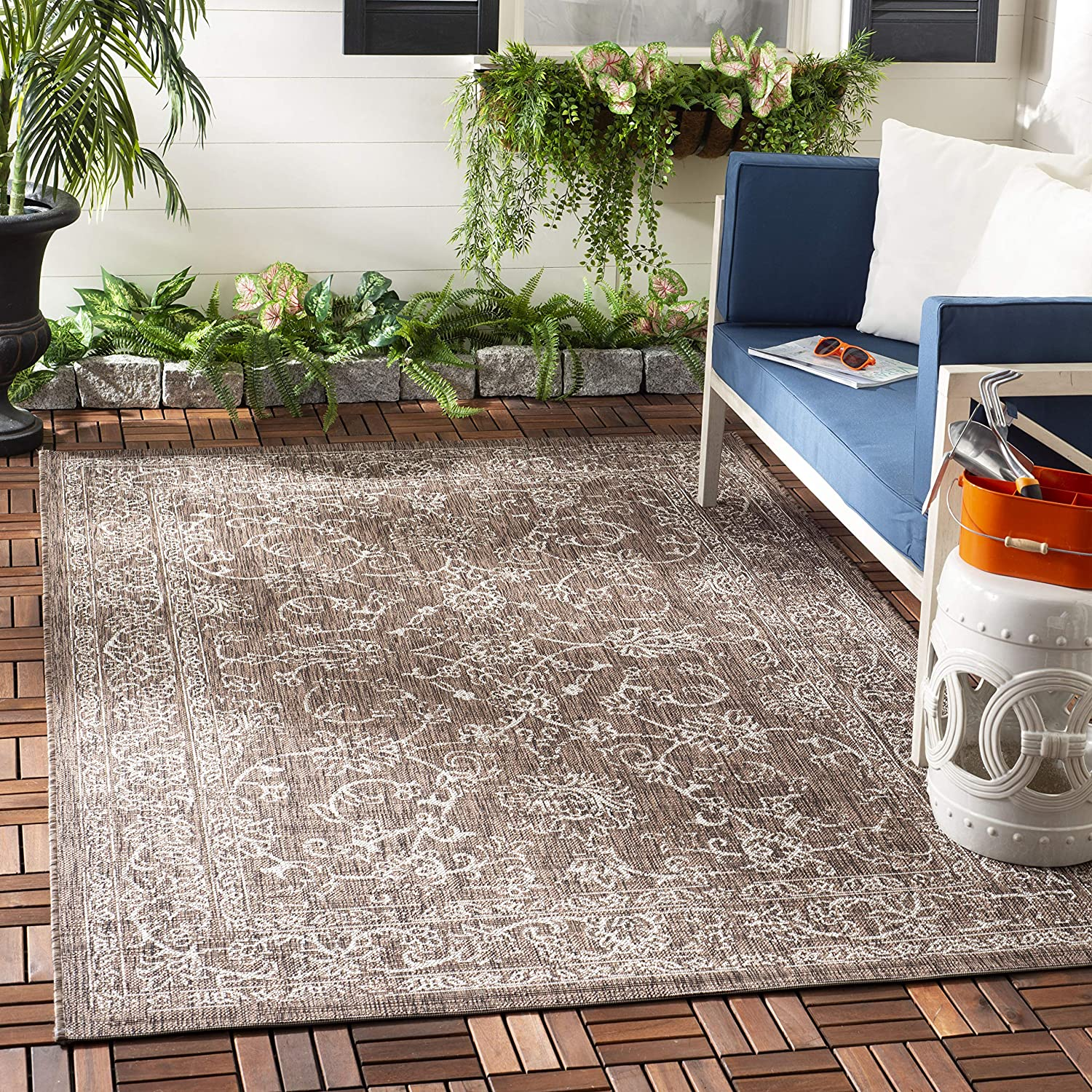 Safavieh Courtyard Collection CY8680 Indoor Outdoor Regular discount Non-Sheddin New product type