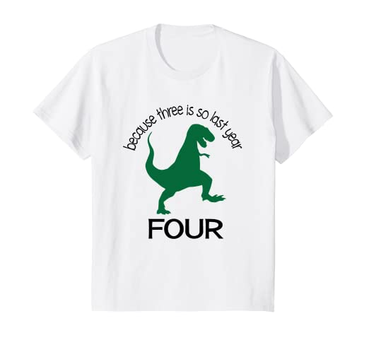 Image Unavailable Not Available For Color Kids Dinosaur 4th Birthday Boy Shirt